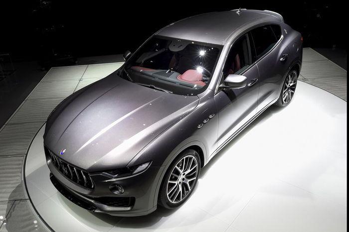 [2016 Geneva] Maserati Levante ลุยงานเจนีวาด้วยฝูงม้า 430 ตัว