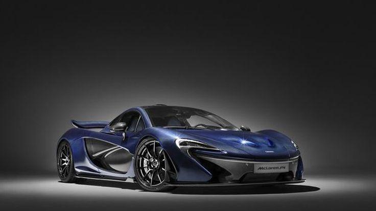 [2016 Geneva] อย่างโหด! McLaren โชว์ P1 ตัวถังลายคาร์บอนไฟเบอร์