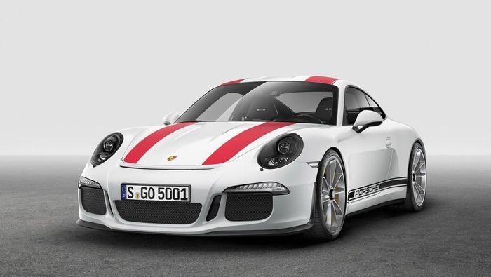 [2016 Geneva] Porsche 911R พลังโหด ถ่ายทอดเทคโนโลยีรถแข่ง