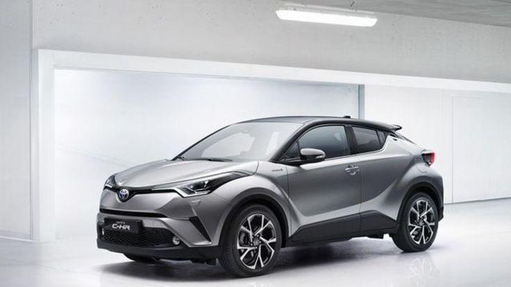 [2016 Geneva] Toyota C-HR รถไฮบริดรุ่นแรกในเซกเมนท์ครอสโอเวอร์ขนาดเล็ก