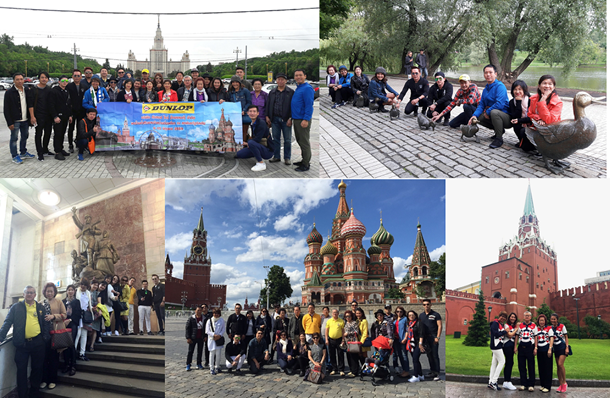 Dunlop Incentive Tour to Russia