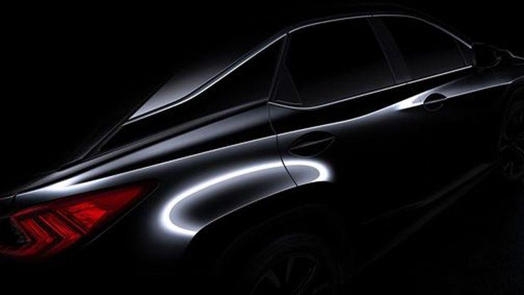ชมวีดีโอทีเซอร์ 2016 Lexus RX ก่อนเปิดตัวจริงต้นเดือนเมษายนนี้