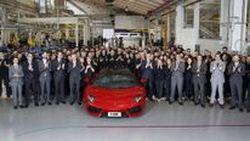 ของเขาขายดีจริง Lamborghini ผลิต Aventador ครบ 5,000 คัน ด้วยระยะเวลาไม่ถึง 5 ปี