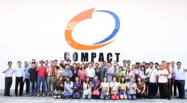 คอมแพ็คเบรกจัดประชุมประจำปีศูนย์บริการ Compact Premium Service Center