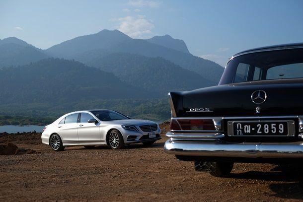 ชมการเดินทางของรถ 2 เจเนอเรชั่นใน Mercedes-Benz AROUND THAILAND IN 18 DAYS