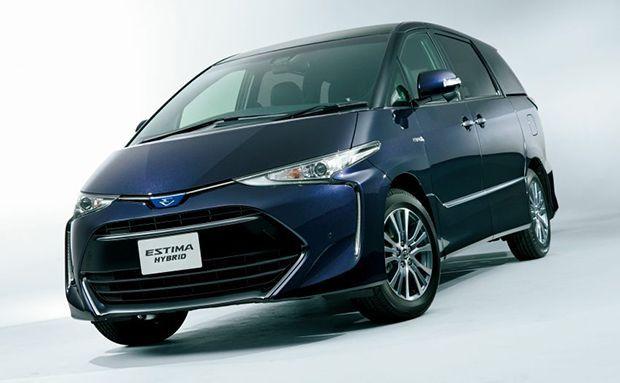 2016 Toyota Estima ไมเนอร์เชนจ์ เปิดตัวในแดนปลาดิบ