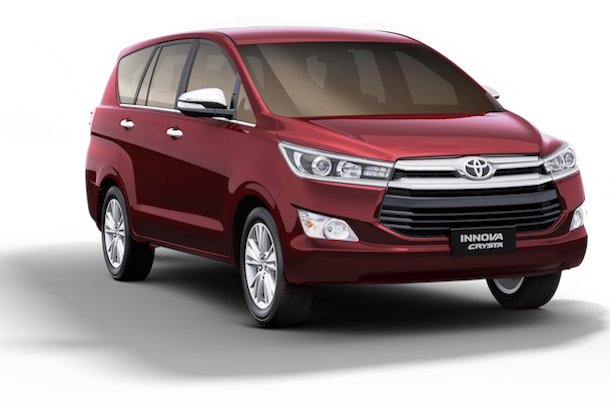 [LAUNCHED] 2016 Toyota Innova Crysta เปิดตัวในไทยกับ 3 รุ่น เคาะราคา 1.129 - 1.399 ล้านบาท