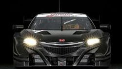 2017 Acura NSX Super GT รถแข่งหน้าตาโหดและกราดเกรี้ยว