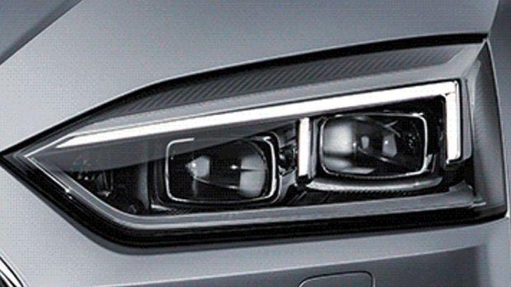 ทีเซอร์ 2017 Audi A5 Coupe กรอบไฟหน้าใหม่เฉียบคมยิ่งขึ้น