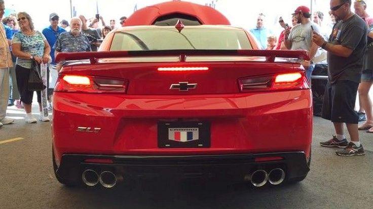 ชมคลิป เสียงคำรามจาก Chevrolet Camaro ZL1 ตัวแรงพลัง 650แรงม้า