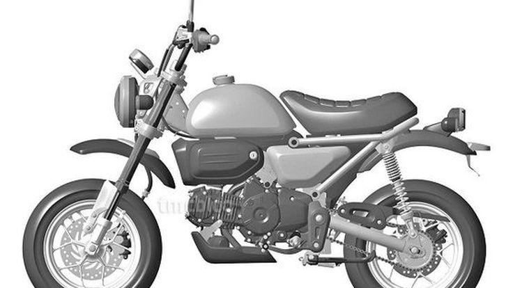 Honda Monkey อาจเตรียมกลับมาหลังยื่นจดสิทธิบัตรรถมินิไบค์รุ่นใหม่