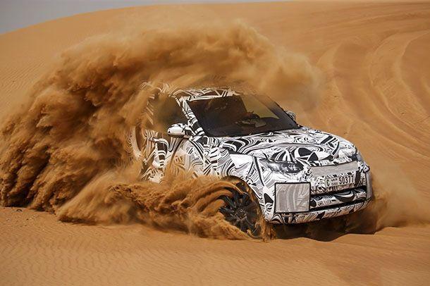 2017 Land Rover Discovery ทีเซอร์ล่าสุดทั้งภาพและวีดีโอ