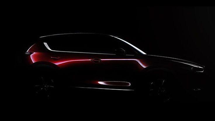 2017 Mazda CX-5 รุ่นใหม่เตรียมเปิดตัวกลางเดือนพฤศจิกายนนี้