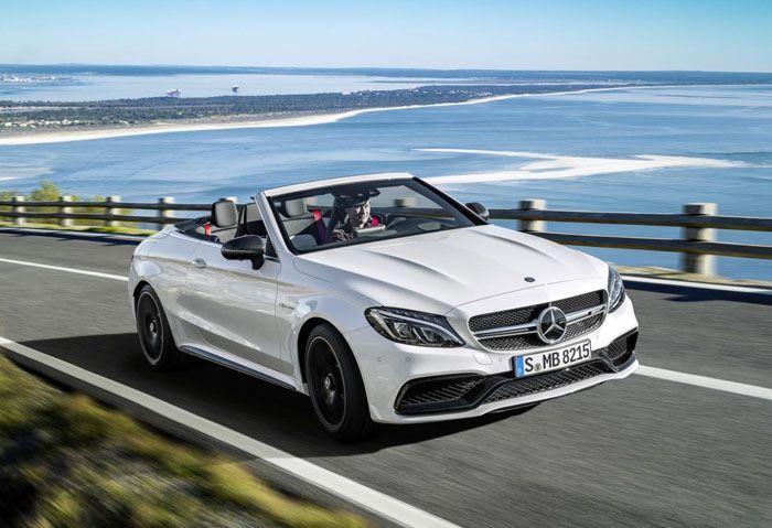2017 Mercedes-AMG C63 Cabriolet ยัดขุมพลังวี8 เปิดตัวครั้งแรกในโลก