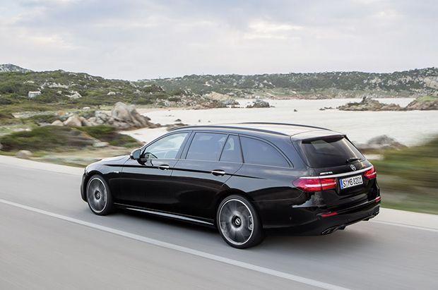 เปิดตัว 2017 Mercedes-Benz E-Class Estate รุ่นท็อป 396 แรงม้า
