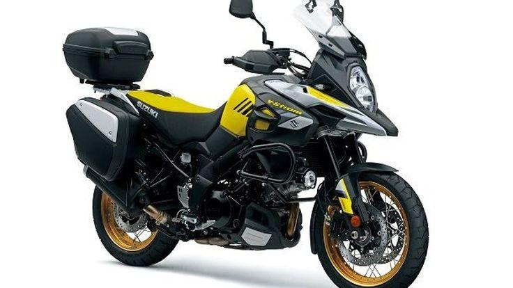 Suzuki V-Strom1000 และ V-Strom1000XT เสริมเขี้ยวเล็บใหม่ทันสมัยขึ้น