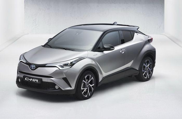 เปิดภาพแรก 2017 Toyota C-HR โฉมโปรดักชั่น
