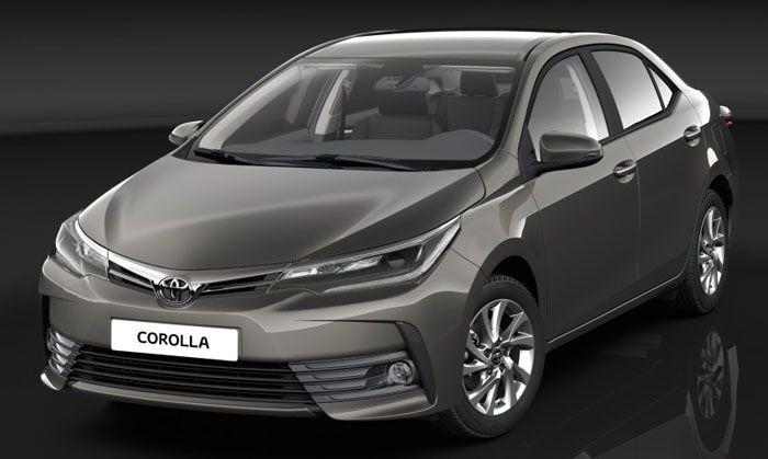 เปิดภาพชุดแรก 2017 Toyota Corolla ปรับโฉมตามเอกลักษณ์ใหม่