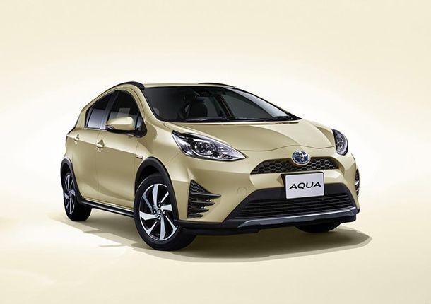 ปรับโฉม 2017 Toyota Prius C เพิ่มรุ่นครอสโอเวอร์
