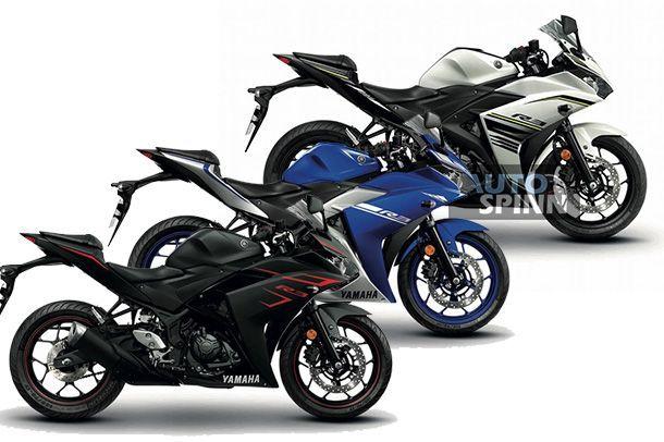 2017 Yamaha YZF-R3 สปอร์ตสองสูบปรับเฉดสีและกราฟฟิคใหม่เร้าใจเช่นเดิม