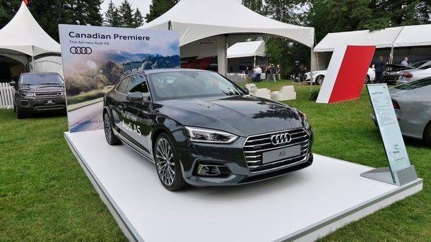ซุ่มเปิดตัว !! Audi A5 coupe สปอร์ตคูเป้รุ่นใหม่ ครั้งแรกใน อเมริกาเหนือ