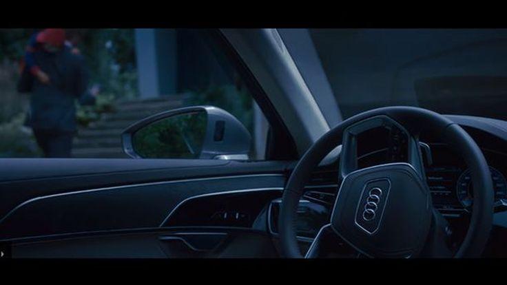 วีดีโอทีเซอร์ 2018 Audi A8 ถอยจอดเองอัตโนมัติ