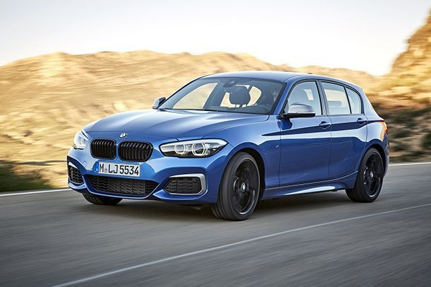 2018 BMW 1-Series เผยโฉมพร้อมอัพเกรดเทคโนโลยี