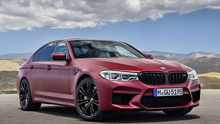 เปิดตัวแล้ว 2018 BMW M5 ขับเคลื่อนสี่ล้อ พลังโหด 600 แรงม้า
