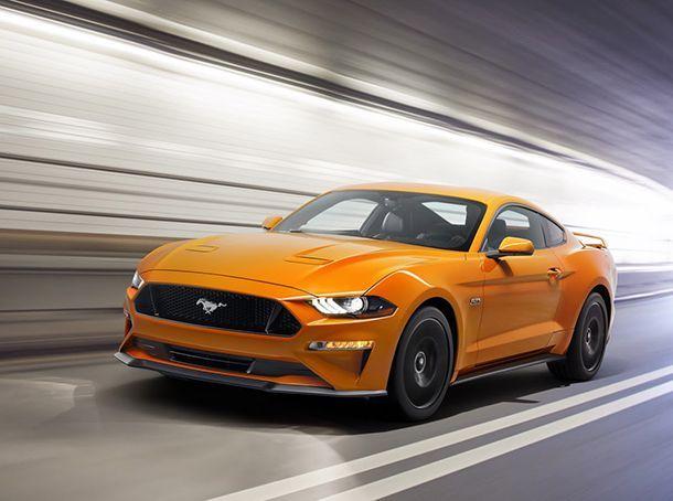 ปรับโฉม 2018 Ford Mustang เสริมเกียร์ลูกใหม่ พร้อมมาตรวัดดิจิตอล