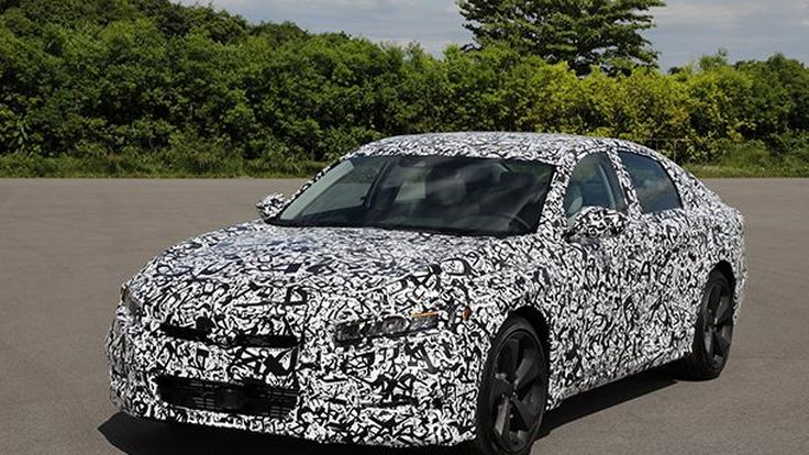 2018 Honda Accord เตรียมใช้เครื่องยนต์เทอร์โบ