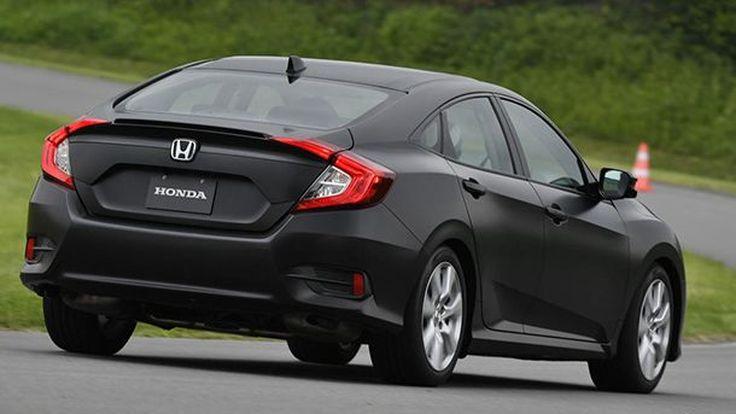 2018 Honda Civic เตรียมใช้เกียร์อัตโนมัติ 8 สปีด
