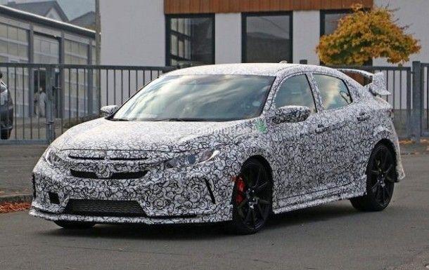 ตัวแรงกำลังมา !! Honda Civic Type R รุ่นใหม่ เริ่มออกวิ่งทดสอบบนถนนจริง พร้อมตัวถังแบบพรางตัว