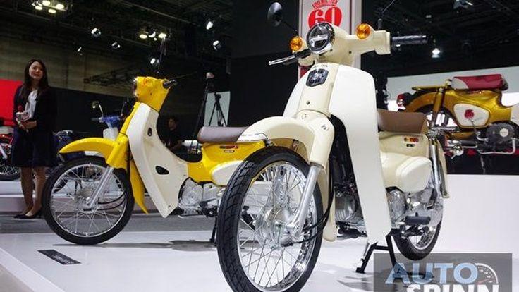 [Tokyo2017] 2018 Honda Super Cub110 สเป็คญี่ปุ่นของเทพเจ้ารถเครื่องที่ผลิตแล้วกว่า 100 ล้านคัน