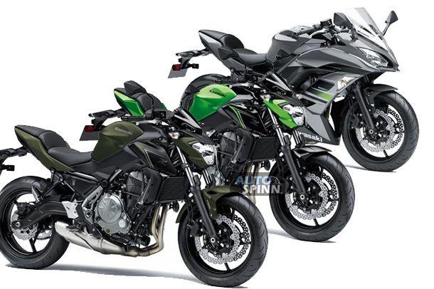 2018 Kawasaki Ninja650 และ Z650 สีสันใหม่สำหรับตลาดสหราชอาณาจักร