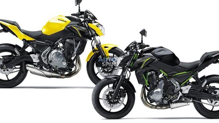 2018 Kawasaki Z650 เหลืองจี๊ด เขียว-ดำ สำหรับตลาดแดนปลาดิบ