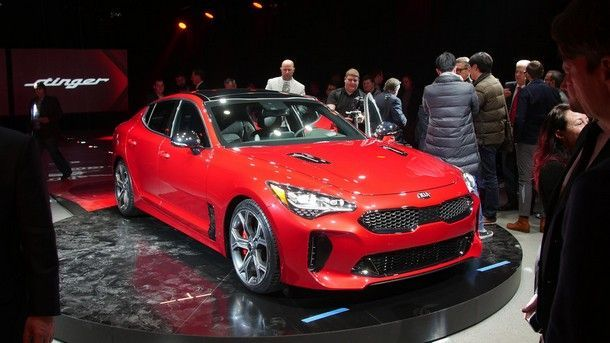 [Detroit 2017] Kia เปิดตัว Stinger เวอร์ชั่น Gran Turismo ที่มาพร้อมขุมพลัง V6 เทอร์โบ