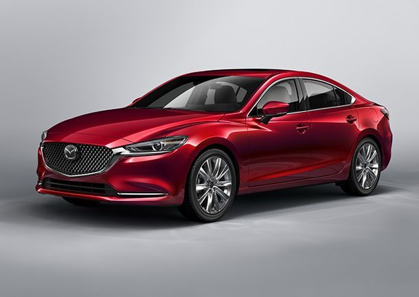 เปิดผ้าคลุม 2018 Mazda 6 โฉมล่าสุดพร้อมขุมพลัง 4 สูบเทอร์โบใหม่