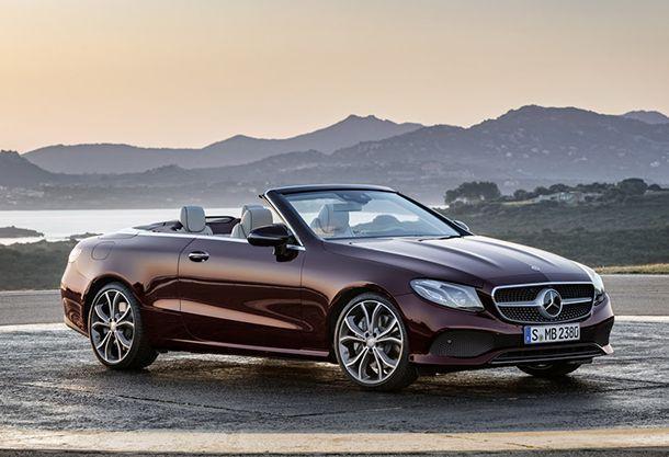 2018 Mercedes-Benz E-Class Cabriolet หล่อหรูดูมีสไตล์