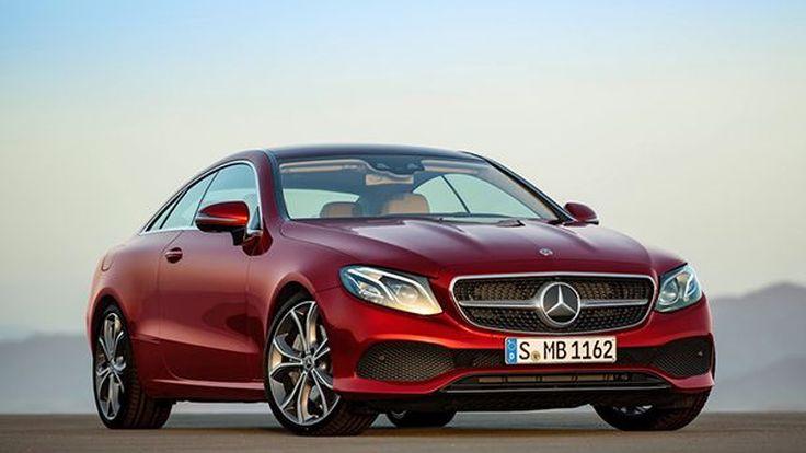 2018 Mercedes-Benz E-Class Coupe หรูหราแบบผู้ดีมีสไตล์