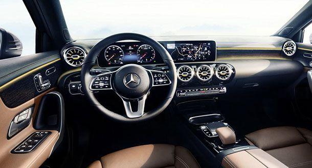 เปิดภาพแรก ห้องโดยสาร 2018 Mercedes-Benz A-Class