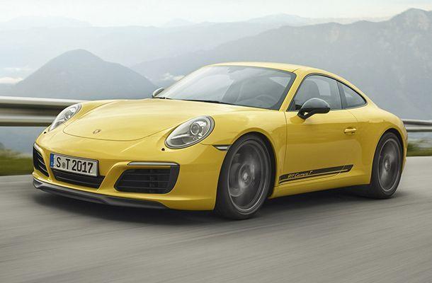 2018 Porsche 911 Carrera T ใช้งานได้ทุกวัน