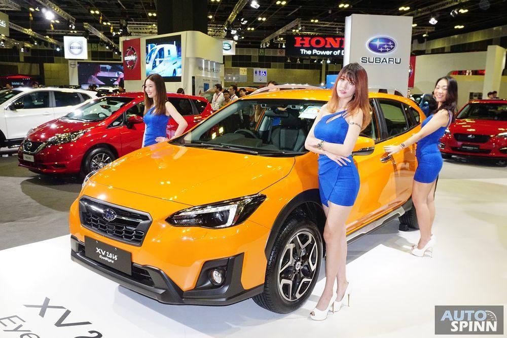 2018 Subaru Outback, XV และ Legacy มาพร้อม EyeSight Assist ของเล่นใหม่เปิดตัวที่สิงคโปร