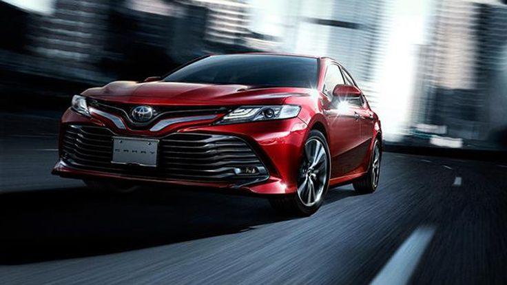 พาชม Toyota Camry โฉมใหม่เปิดตัวทำตลาดแดนปลาดิบ