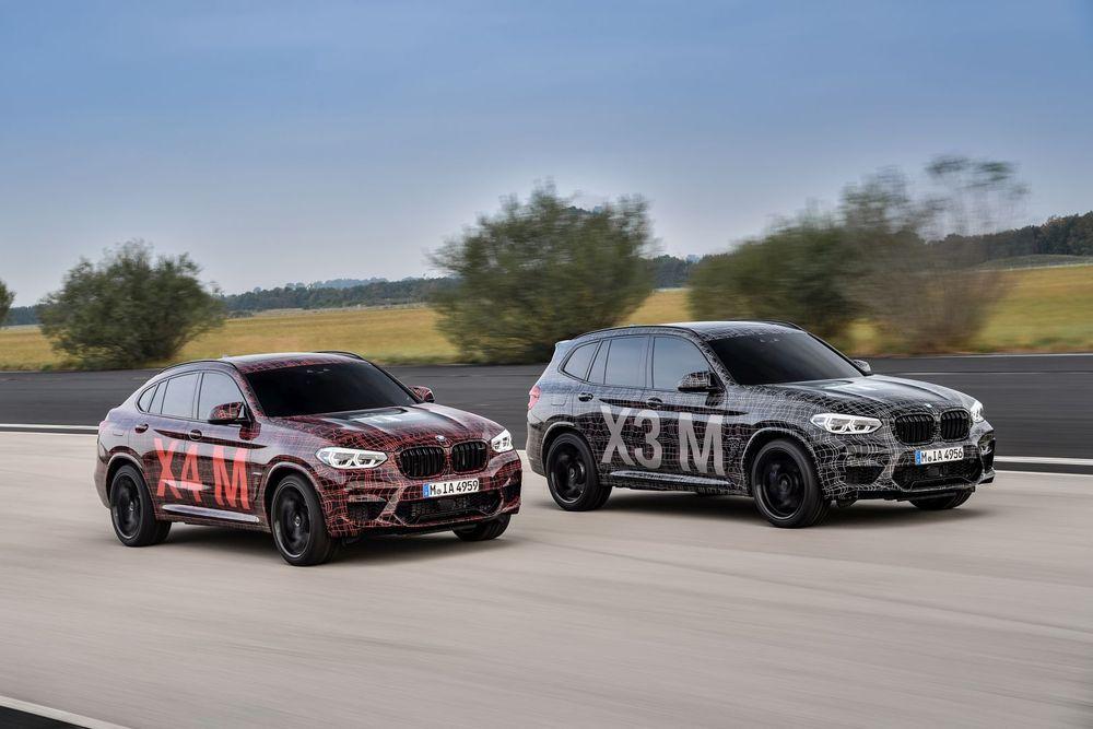 2019 BMW X3 M และ X4 M เปิดตัวแพคคู่