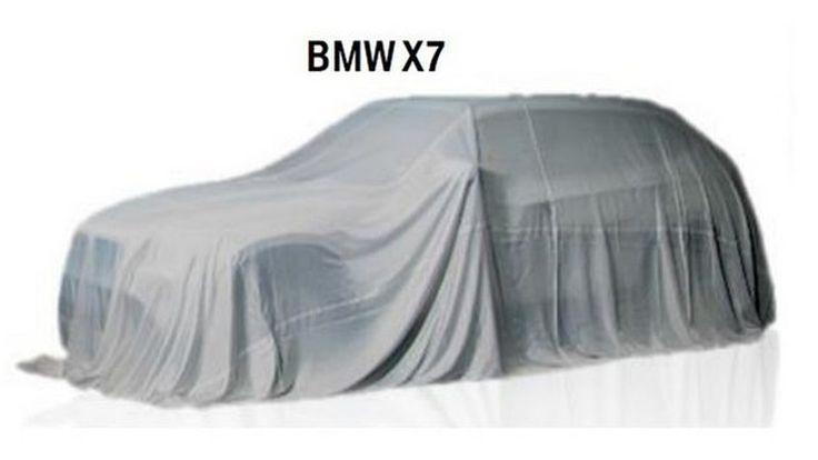 BMW X7 เอสยูวีตัวท็อป เตรียมเปิดตัวปี 2019