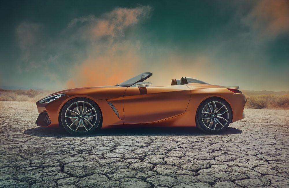 2019 BMW Z4 กับภาพหลุดล่าสุด