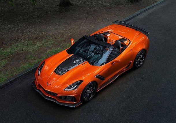 2019 Chevrolet Corvette ZR1 Convertible ขุมพลังสุดแรง 755 แรงม้า