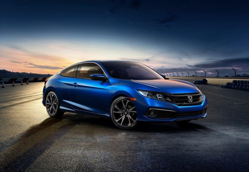 2019 Honda Civic ซีดานและคูเป้ พร้อมปรับหน้า เพิ่มรุ่น Sport และเทคโนโลยีใหม่