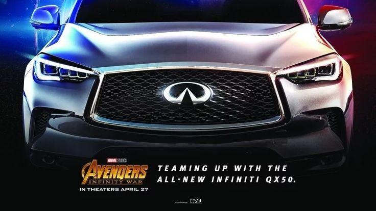 2019 Infiniti QX50 จะโผล่อยู่ในหนัง Avengers ภาค Infinity War ล่าสุดด้วย