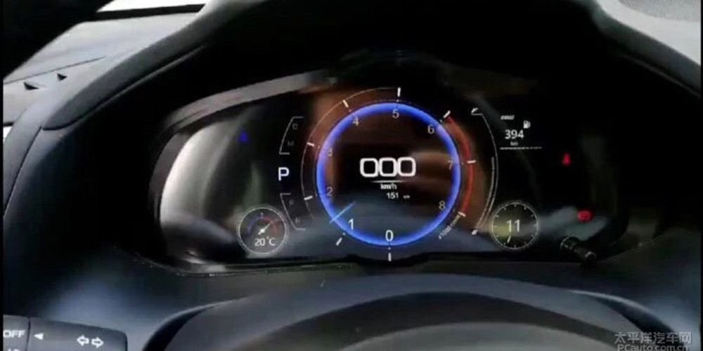 หน้าปัทม์ Digital เต็มรูปแบบกับภาพหลุดล่าสุดของ 2019 Mazda3